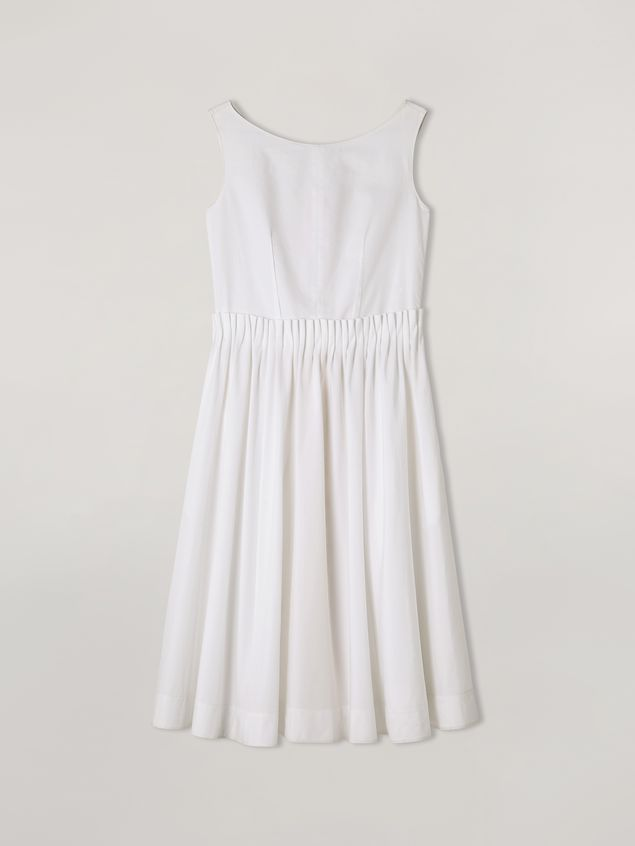 Marni Dress in cotton poplin with back buttoning Woman - 2