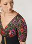 Marni Kleid aus Faille mit Amarcord-Print und Ballonärmeln Damen - 4