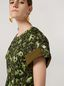 Marni Dress in cotton jacquard Wild print with sleeve turn-ups  Woman - 5