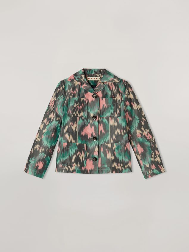 Marni Jacket in cotton poly chiné with 4 pockets Woman - 2