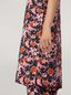Marni Tunic in viscose sablé Buds print with side buttoning Woman - 5