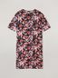 Marni Tunic in viscose sablé Buds print with side buttoning Woman - 2