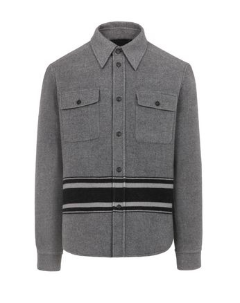 Overshirt In Grau