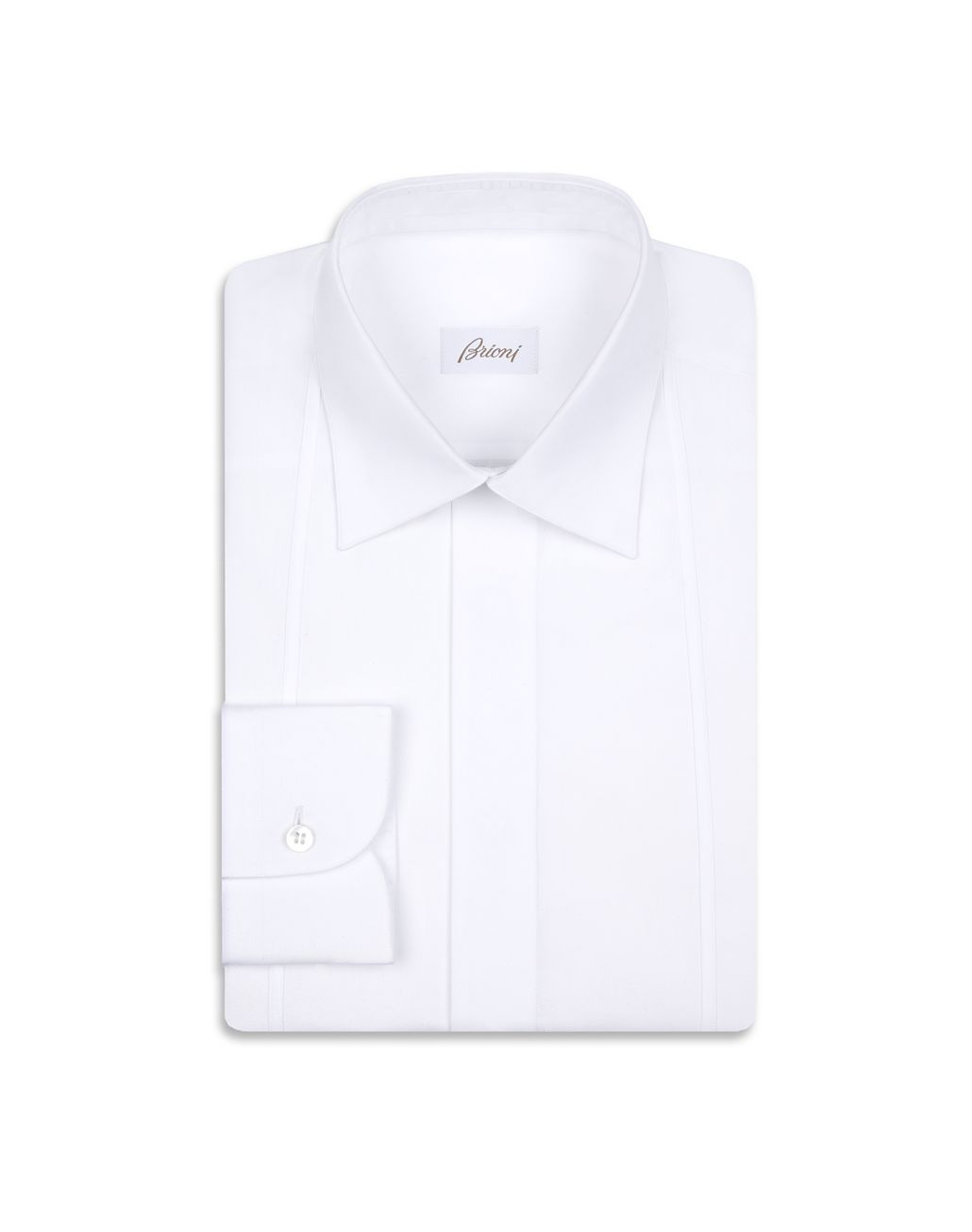 BRIONI White Evening Shirt Formal shirt Man f