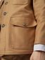 Marni Military jacket in compact cotton satin Man - 4