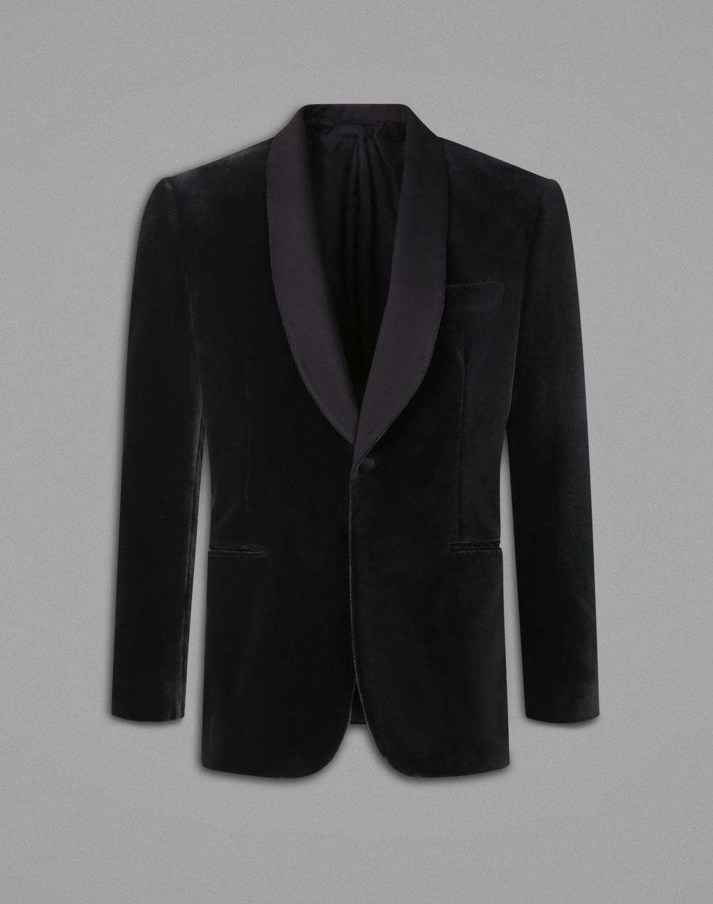 BRIONI Gray Evening Jacket Tuxedo Man f