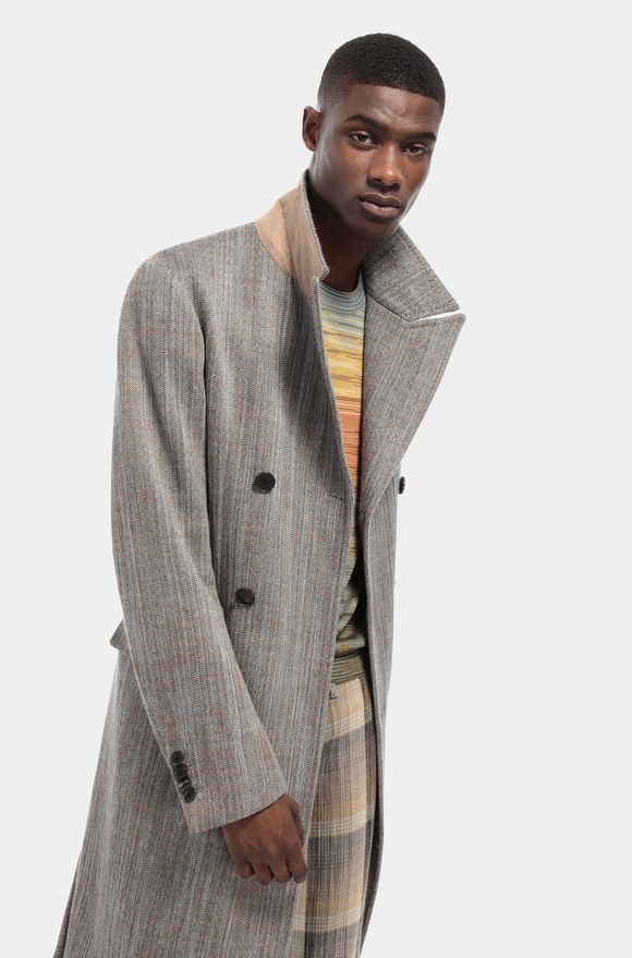 MISSONI Coat Man, Detail