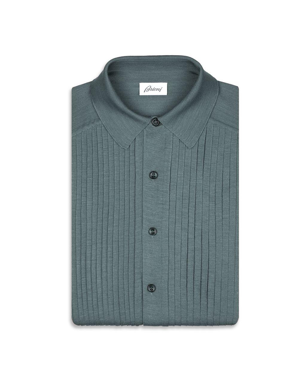 BRIONI Camicia Bluda Sera con Plastron Camicie formali Uomo f