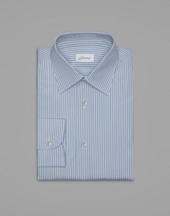 White And Bluette Formal Shirt