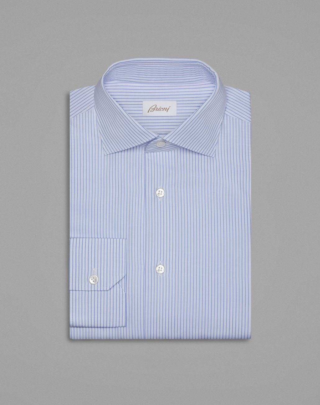 BRIONI Sky Blue And Bluette Formal Shirt Formal shirt Man f