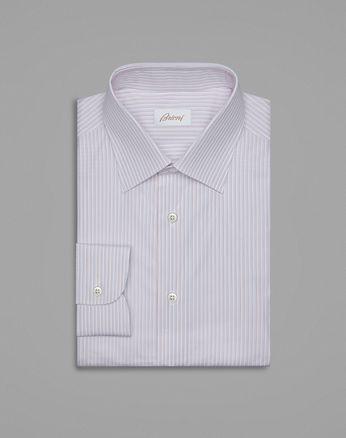 Классическая бело-красная рубашка