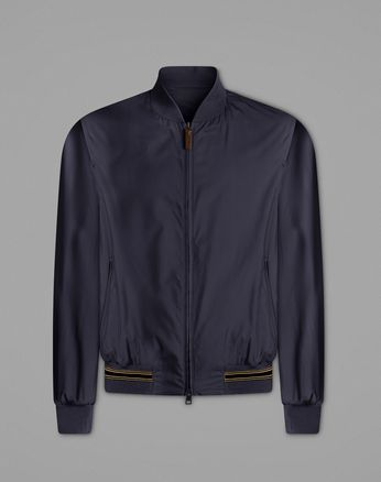 Navy Blue Bomber