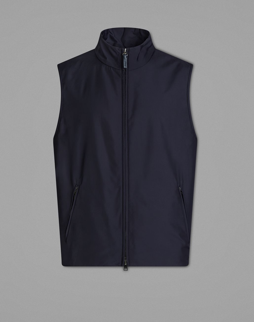 BRIONI Navy Blue Gilet Jackets Man f