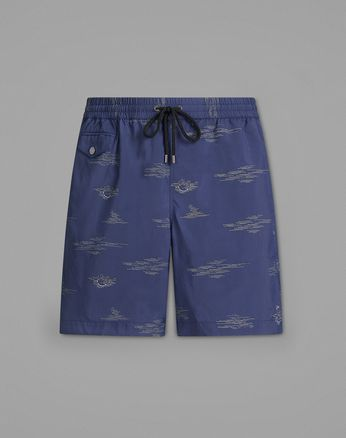 Blue Swimming Boxers