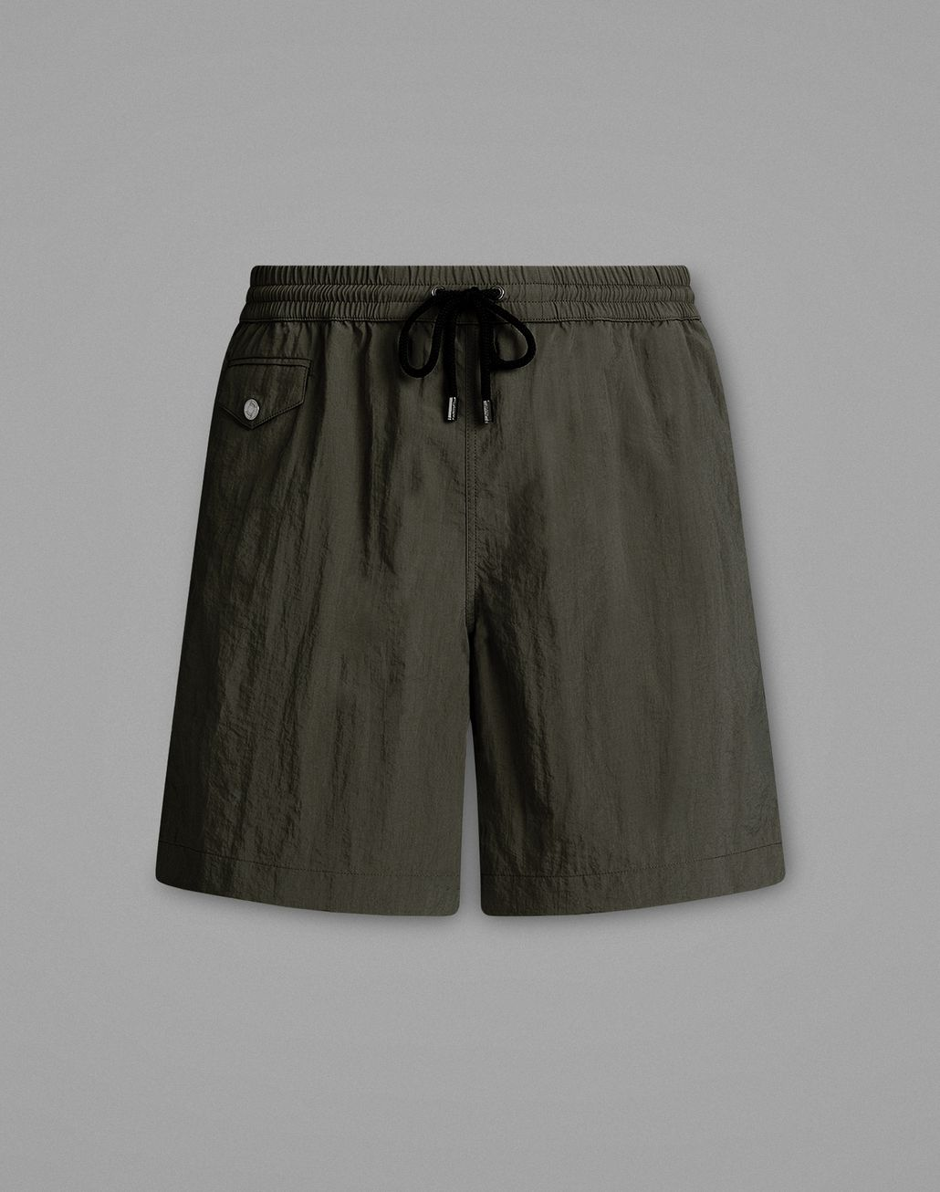 BRIONI Gray Swimming Boxers Beachwear Man f