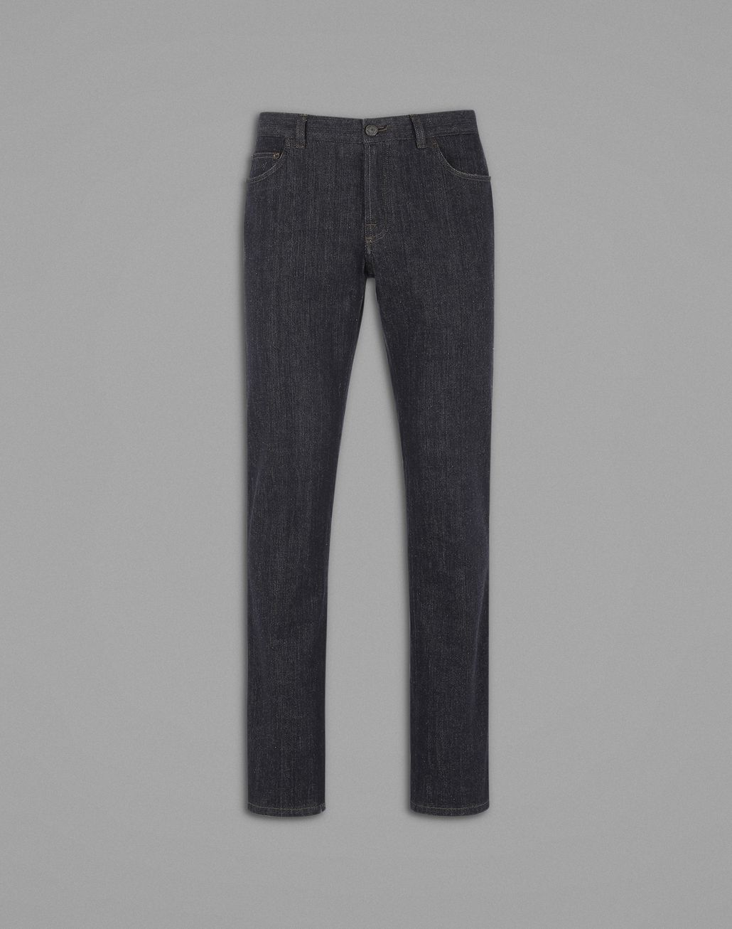 BRIONI Dark Blue Comfort Fit Jeans Denim Man f
