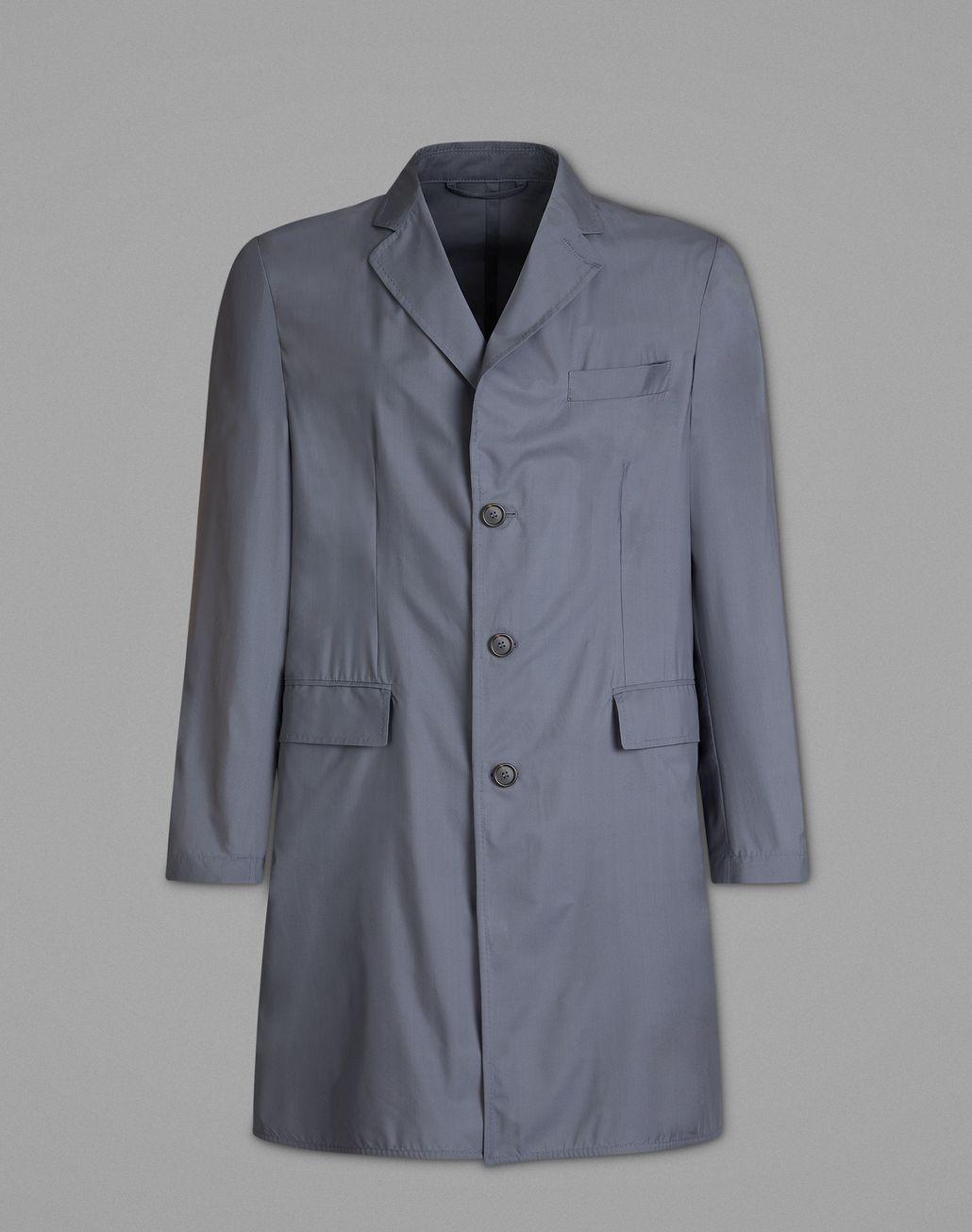 BRIONI Gray Overcoat Jackets Man f