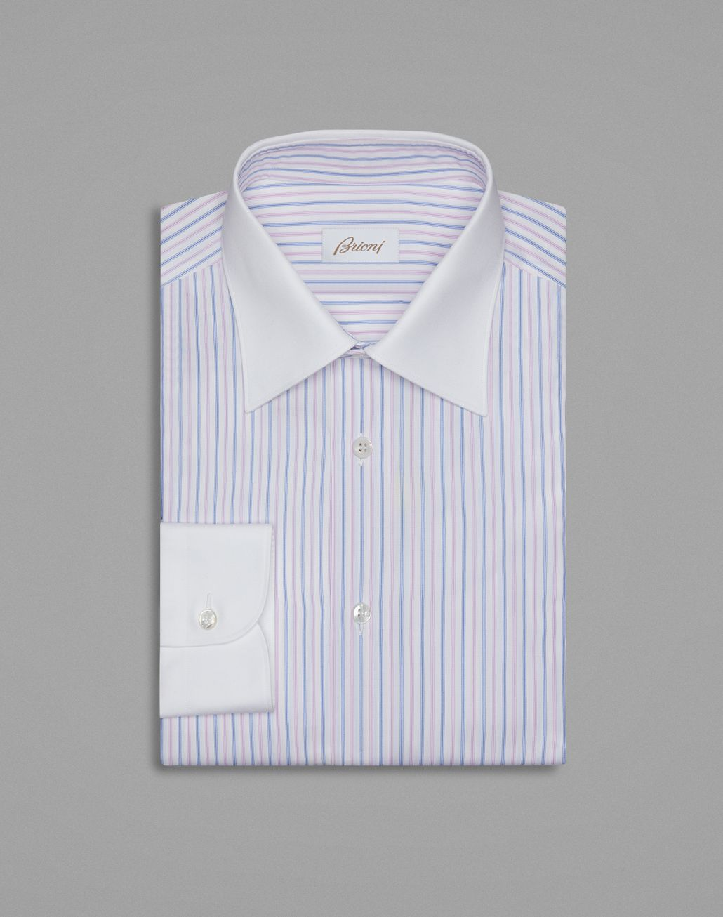 BRIONI Pink Formal Shirt Formal shirt Man f