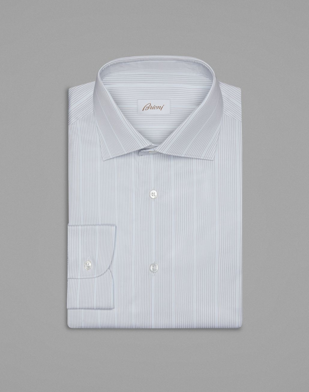BRIONI Grey Formal Shirt Formal shirt Man f