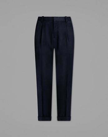 Navy Blue Cargo Pants