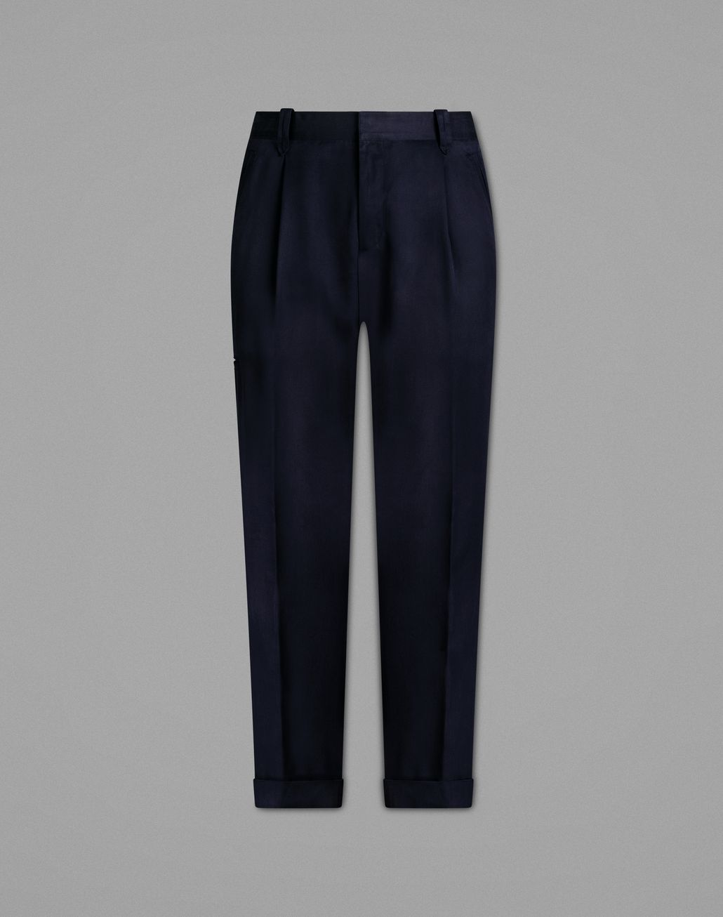 BRIONI Navy Blue Cargo Pants Trousers Man f