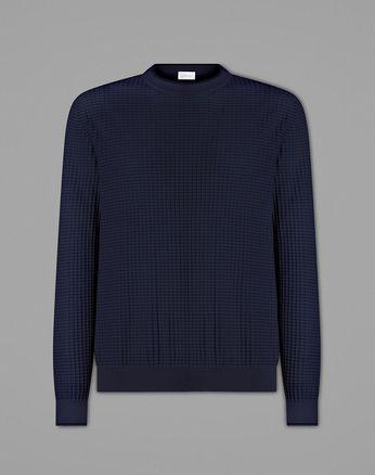 Pullover Girocollo Blu
