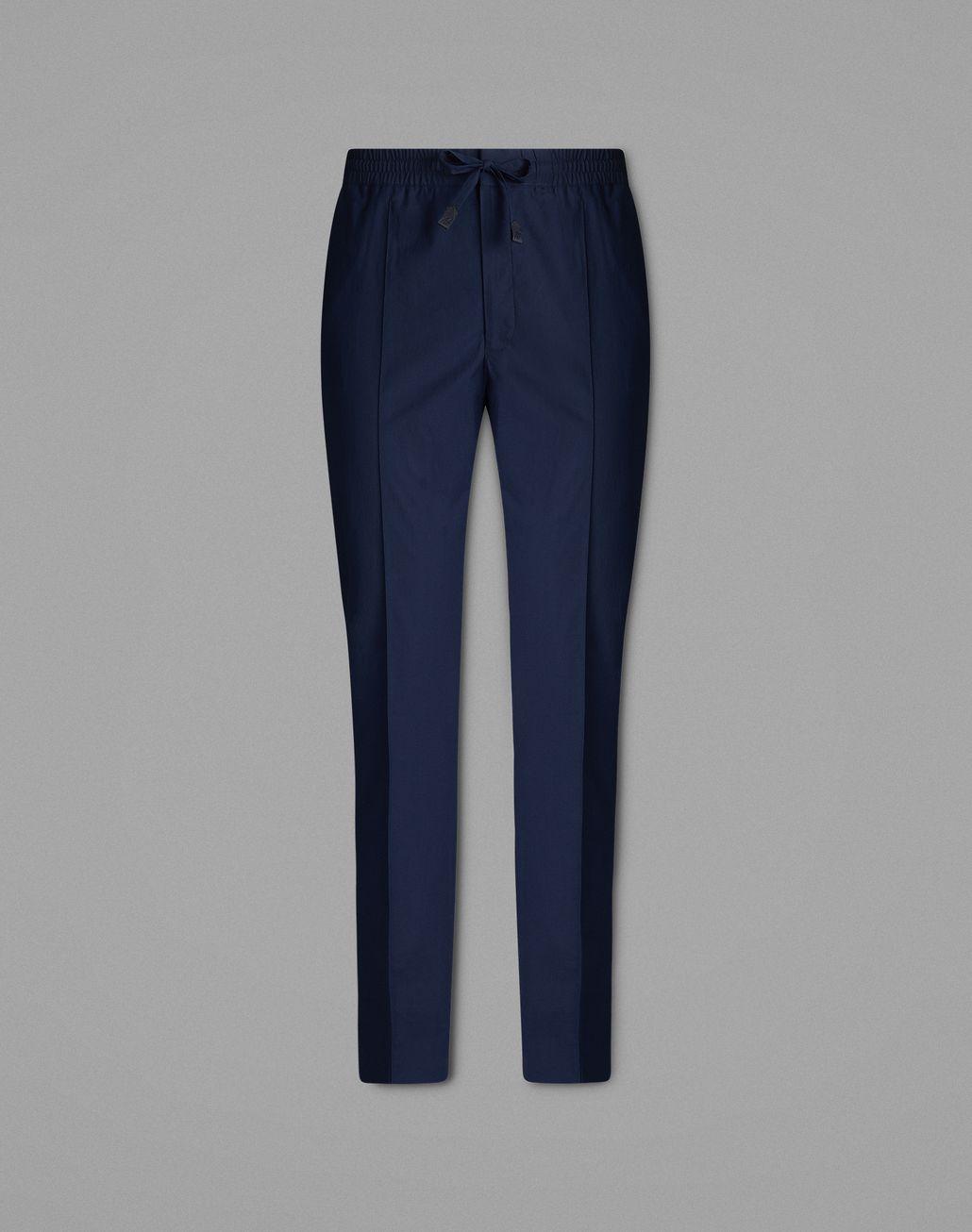 BRIONI Navy Blue Pants Trousers Man f