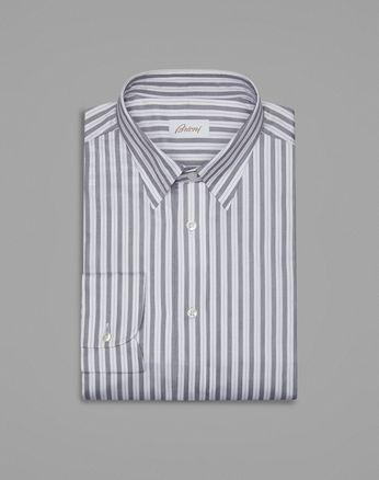 Классическая Чёрно-Белая Рубашка