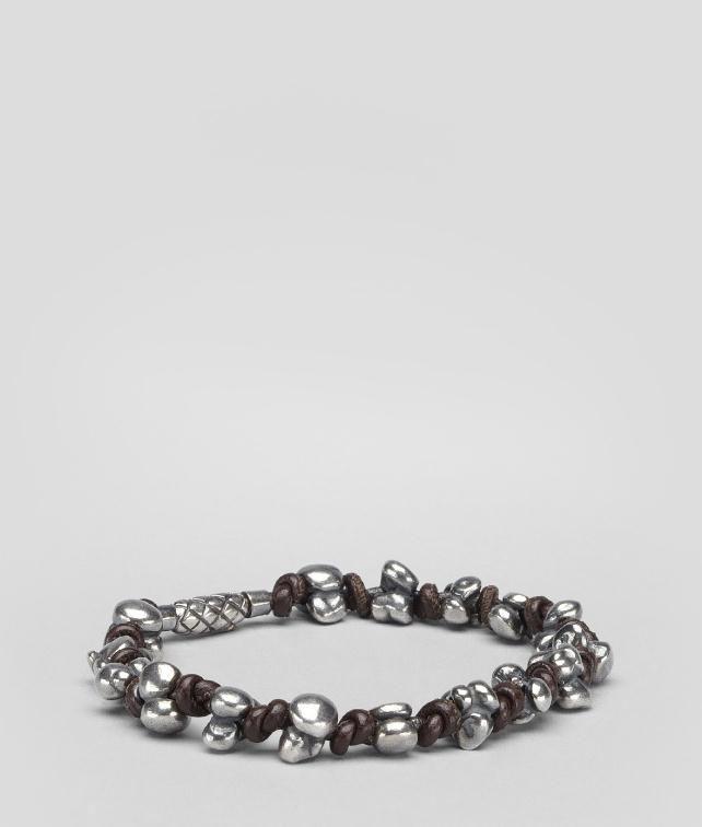 BOTTEGA VENETA Intrecciato Silver Nappa Bracelet Bracelet U fp