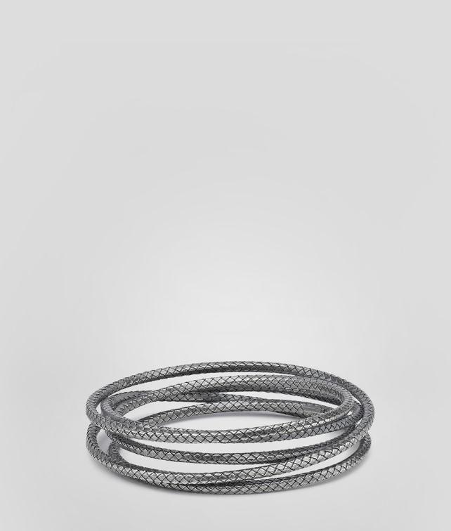 BOTTEGA VENETA Intrecciato Oxydized Bracelet Bracelet D fp