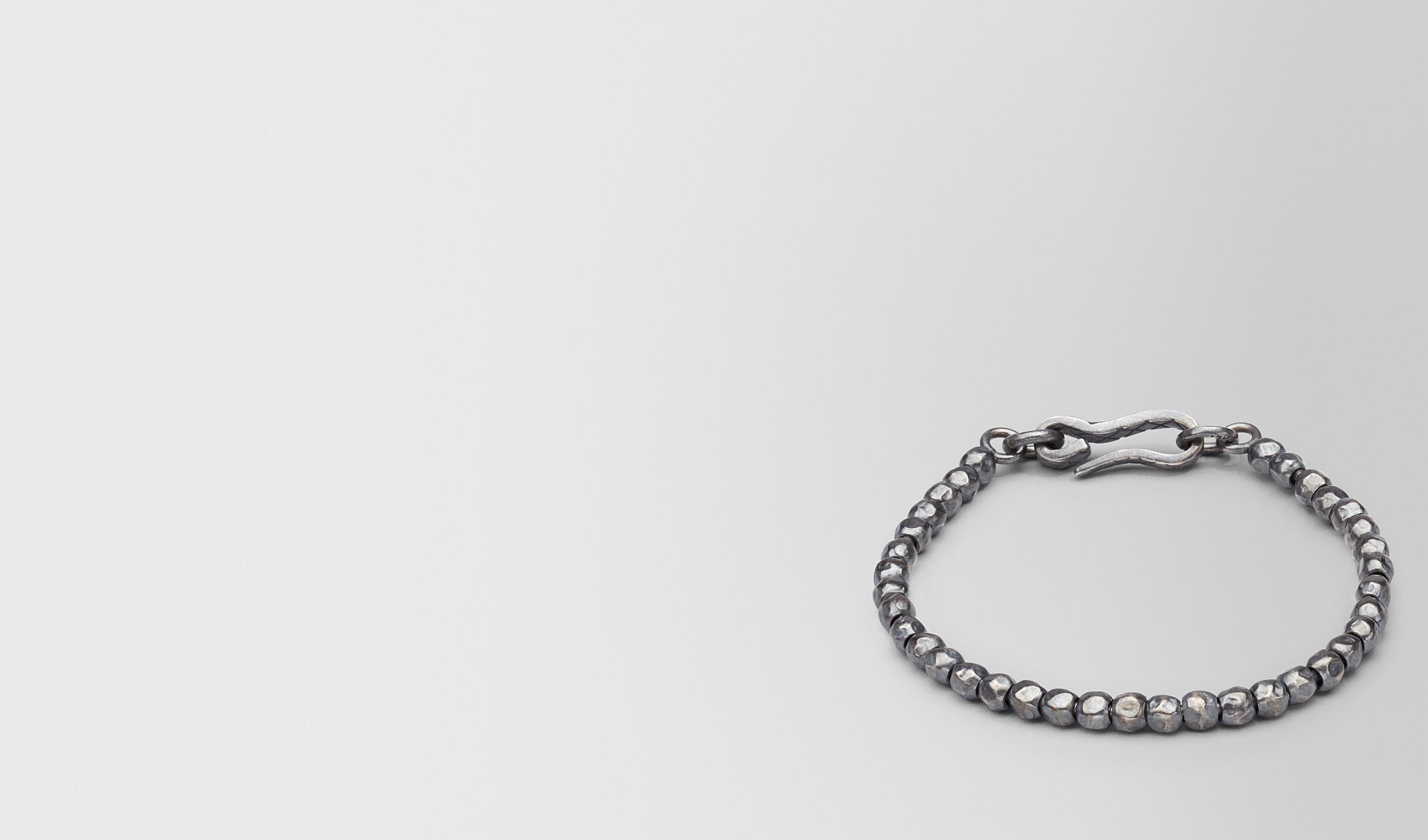 BOTTEGA VENETA Bracelet U BRACELET SILVER, INTRECCIATO DETAIL pl