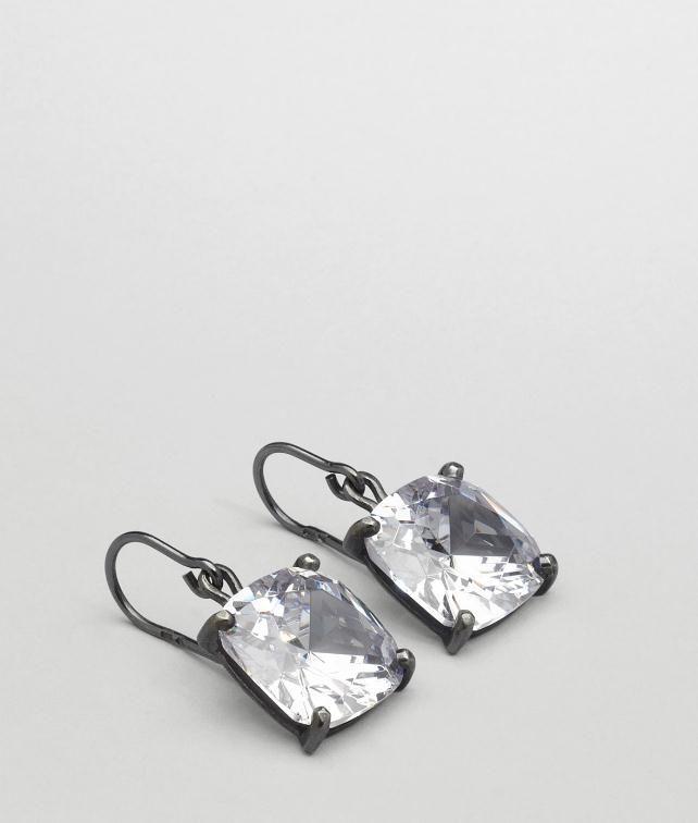 BOTTEGA VENETA Oxydized Zircon Earring Earrings D fp