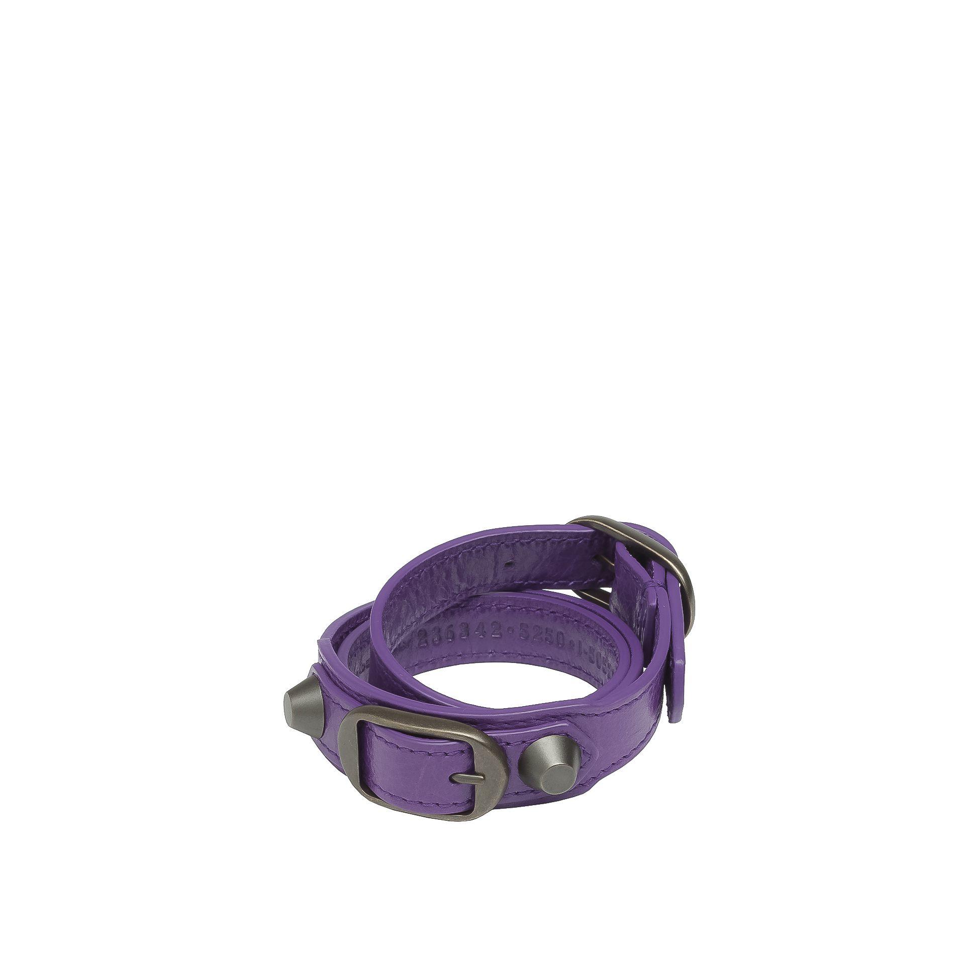 BALENCIAGA Classic Bracelet Triple Tour Bracelet Classic Triple Tour D f