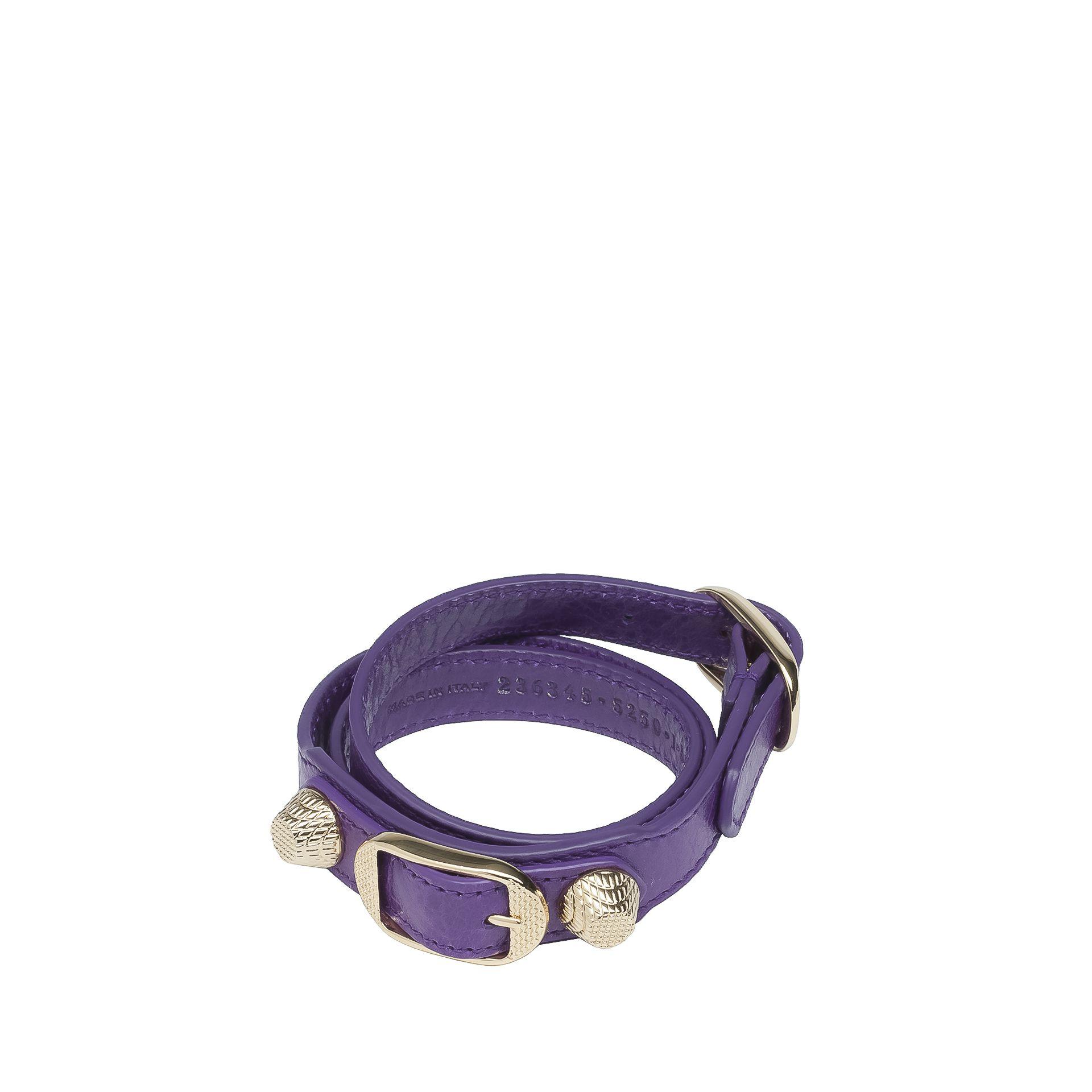 BALENCIAGA Balenciaga Giant Bracelet Triple Tour Or Bracelet D f