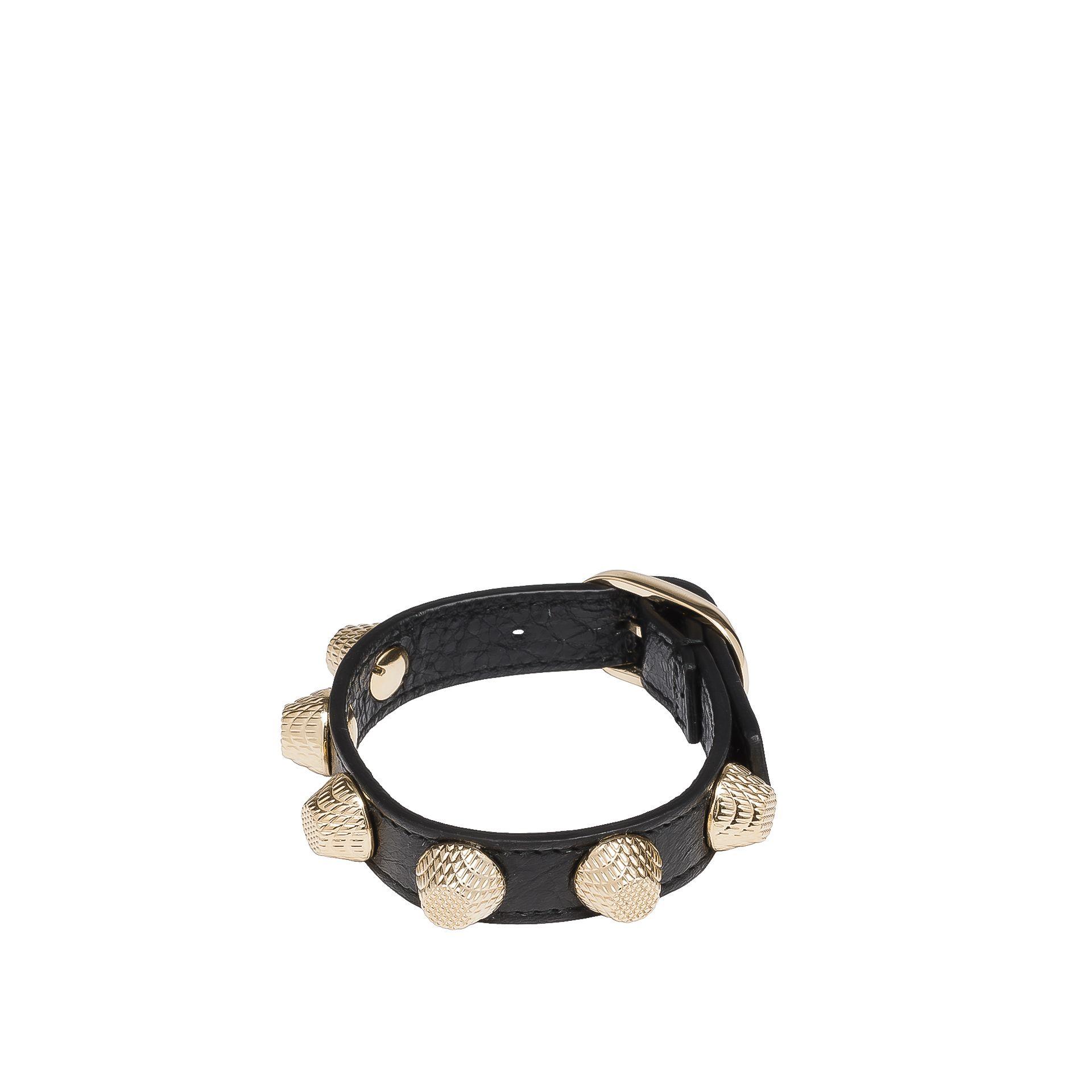 BALENCIAGA Balenciaga Giant Armband Stud Gold Armband D f
