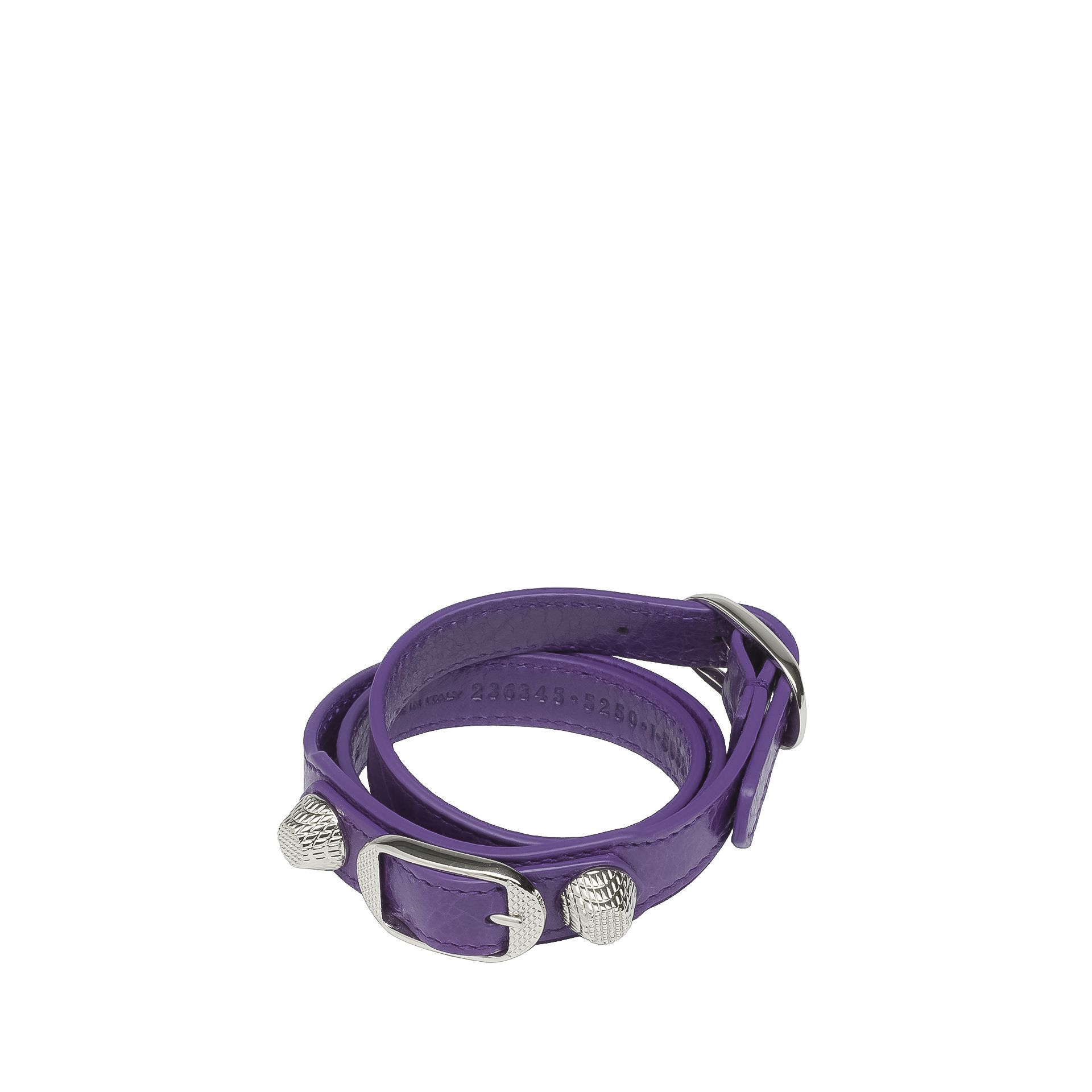 BALENCIAGA Balenciaga Giant Silver Bracelet Triple Tour Bracelet D f