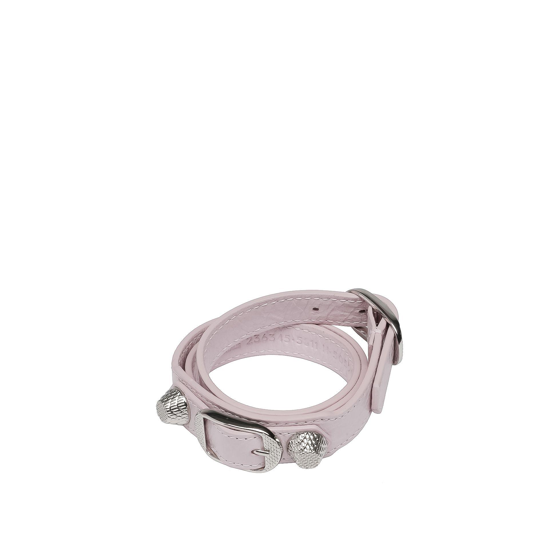 BALENCIAGA Balenciaga Giant Armband Triple Tour Silber Armband D f