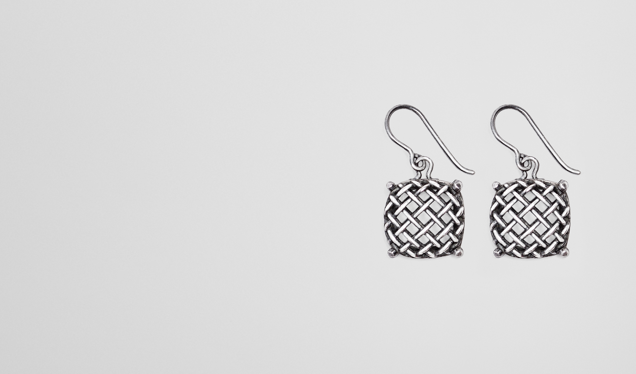 BOTTEGA VENETA Earrings D EARRINGS IN SILVER pl