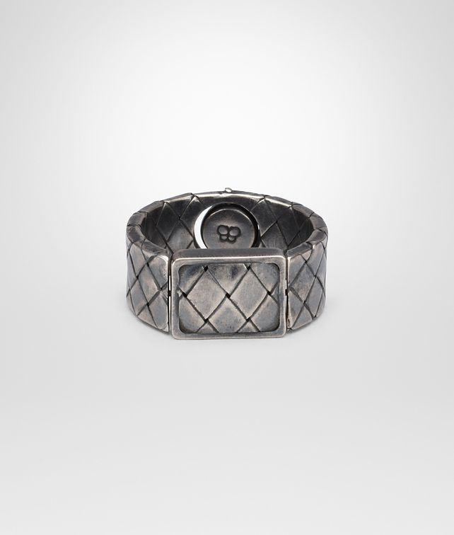 BOTTEGA VENETA RING IN SILVER Necklace and Ring U fp