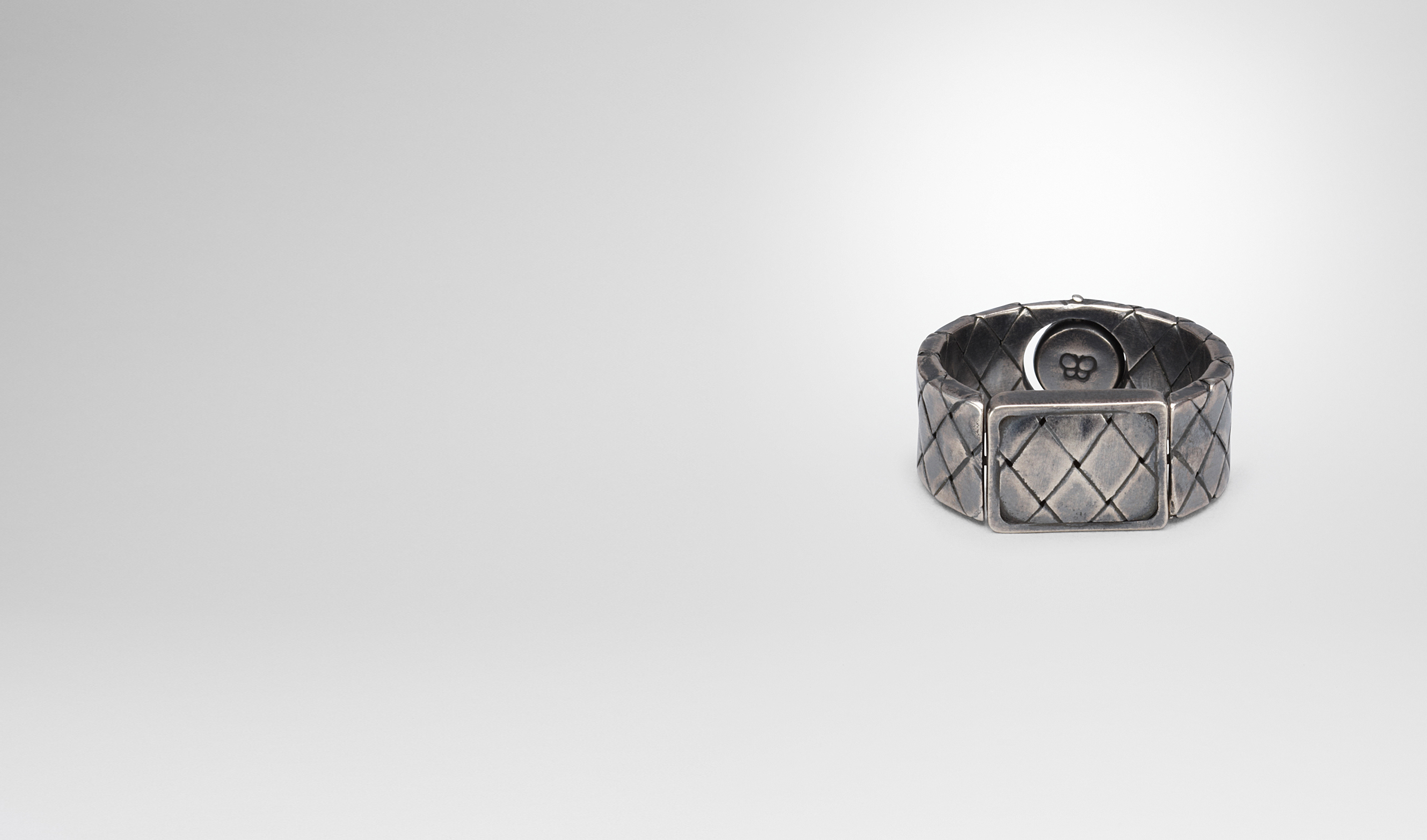 BOTTEGA VENETA Necklace and Ring U RING IN SILVER pl