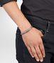 BOTTEGA VENETA Armband aus oxidiertem Silber Intrecciato Armband U ap