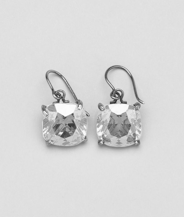 BOTTEGA VENETA Naturale Oxydized Zircon Earring Earrings D fp
