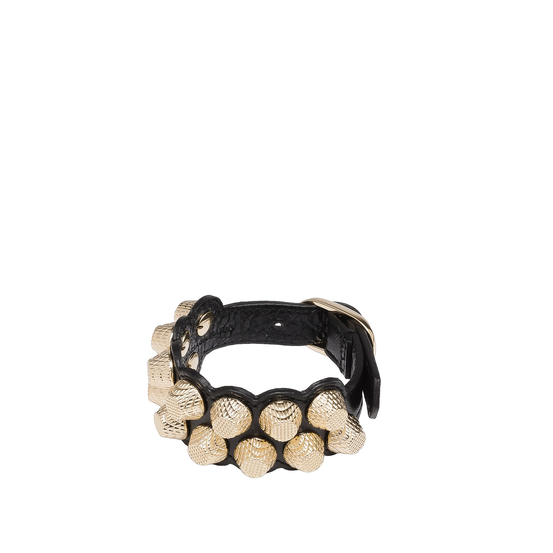 BALENCIAGA Balenciaga Giant Gold Bracelet Stud M Bracelet D f