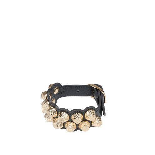 BALENCIAGA Bracelet D Balenciaga Giant Gold Bracelet Stud M f