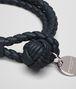 BOTTEGA VENETA BRACELET IN TOURMALINE INTRECCIATO NAPPA Keyring or Bracelets E ap