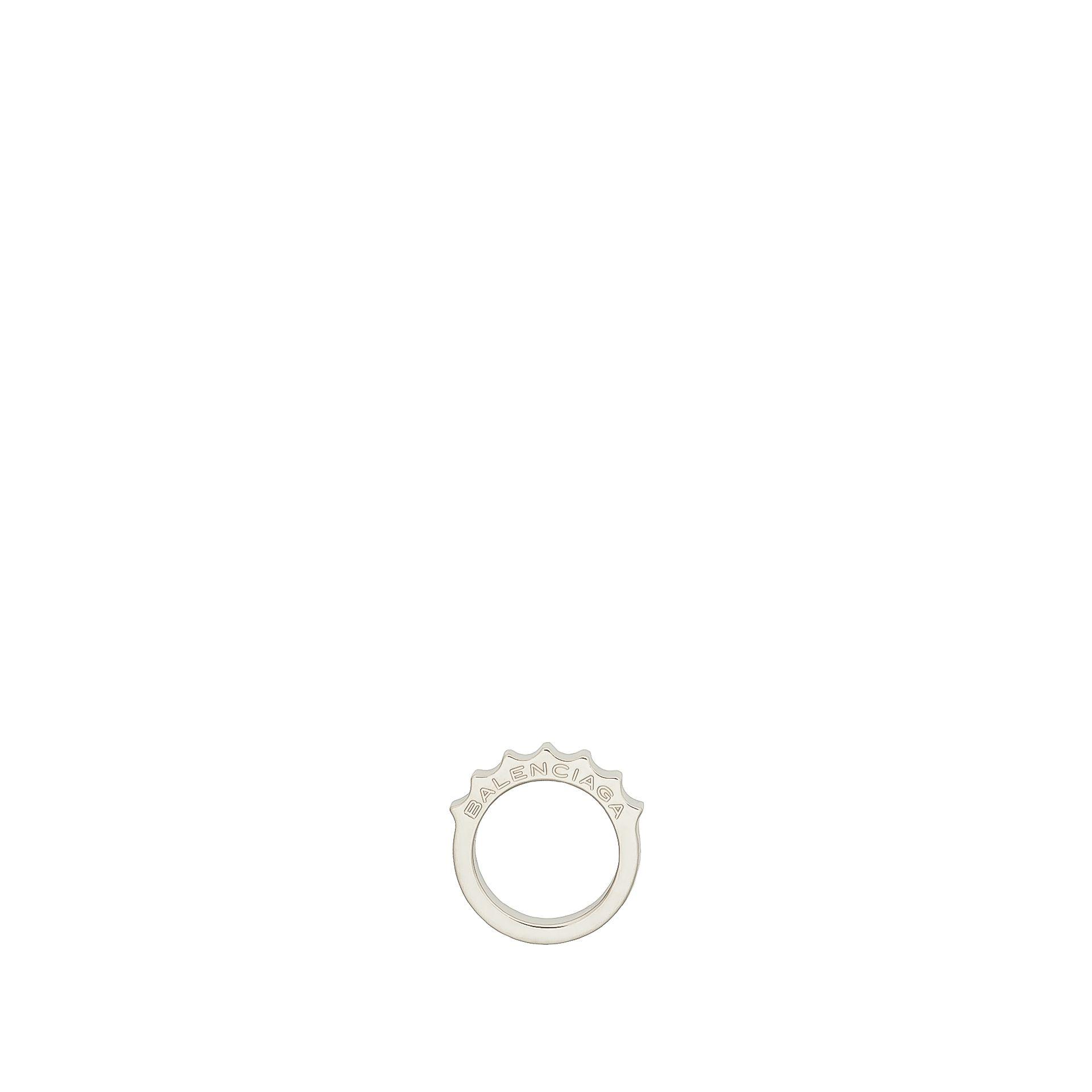 BALENCIAGA Balenciaga Classic Ring Simple Ring D f
