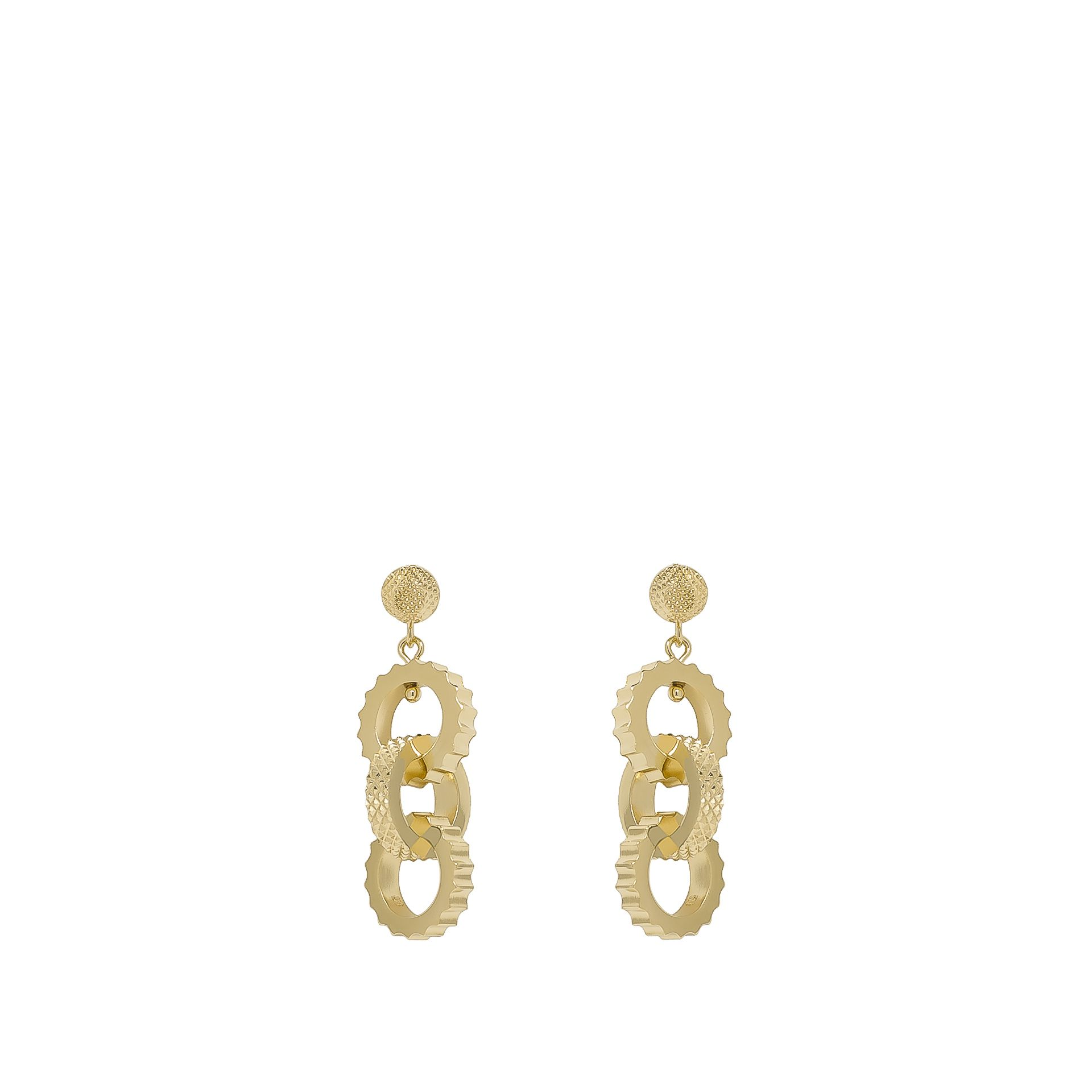 BALENCIAGA Balenciaga Classic Ear Triple Clip Earring D f