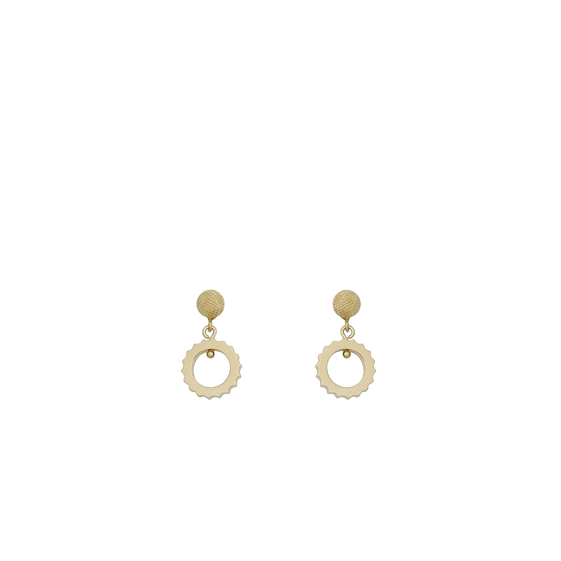 BALENCIAGA Balenciaga Boucles D'Oreilles Clip Classiques Boucles d'oreilles D f