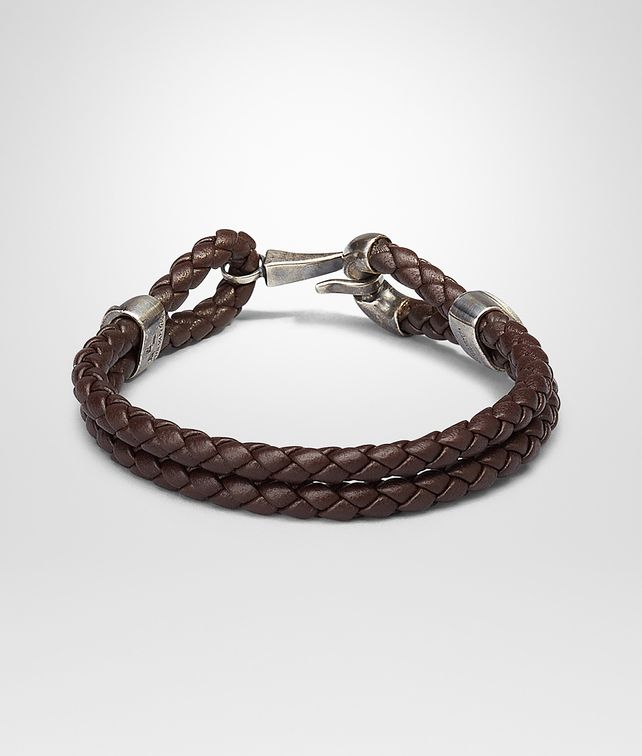 bracelet gray keyring intrecciato or fp light nappa ca bottega e veneta bracelets