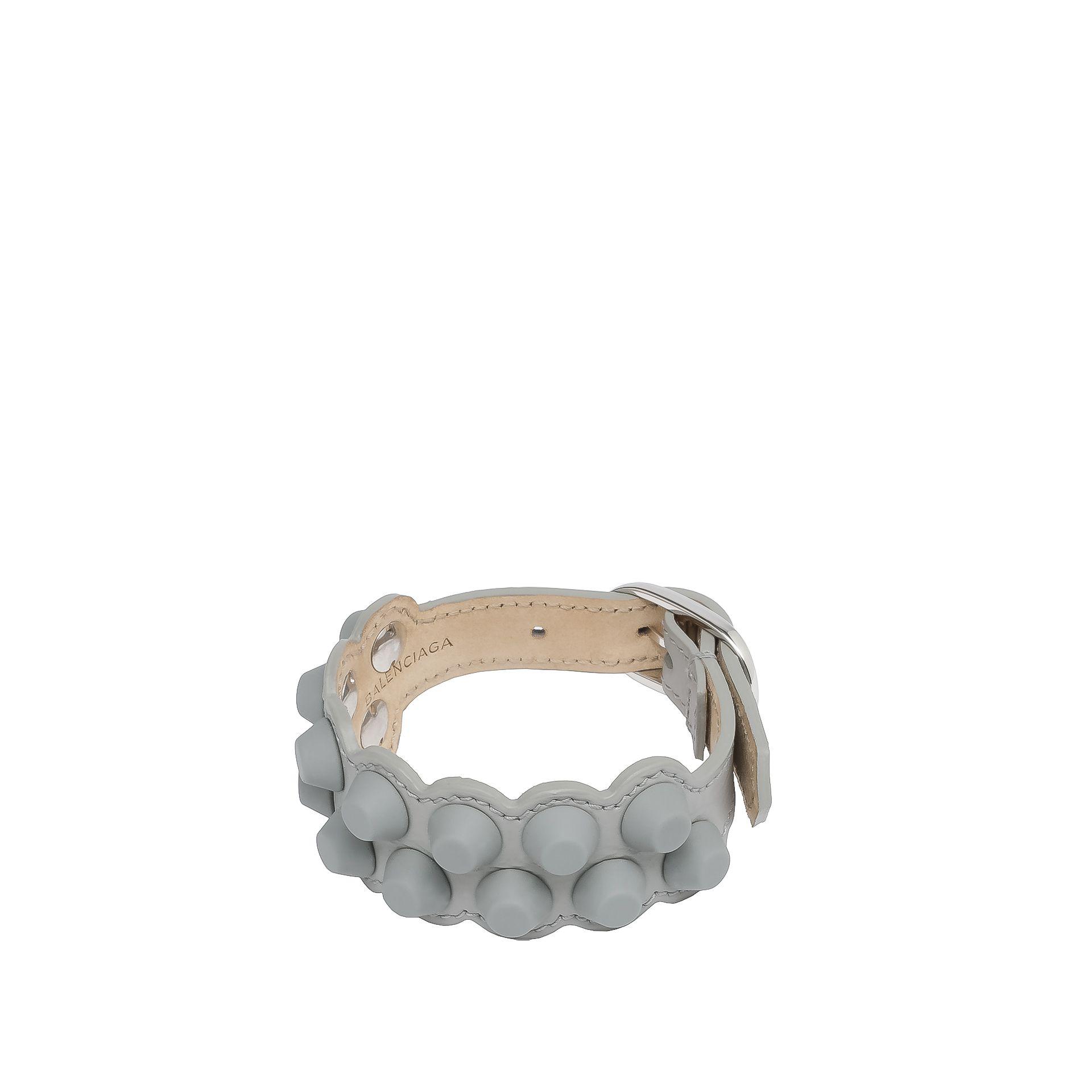 BALENCIAGA Balenciaga Classic Bracelet Studs M Pulsera D f
